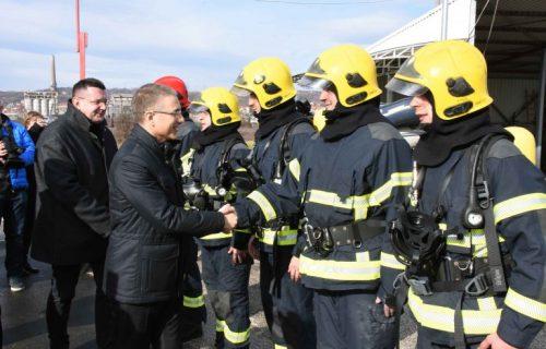 Nova vatrogasna stanica posle četiri decenije (FOTO+VIDEO)