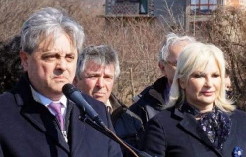 Zorana Mihajlović i Miroljub Jevtić