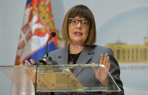 Gojković osudila pretnje Vesne Pešić: Poziv na ubistvo - krivično delo