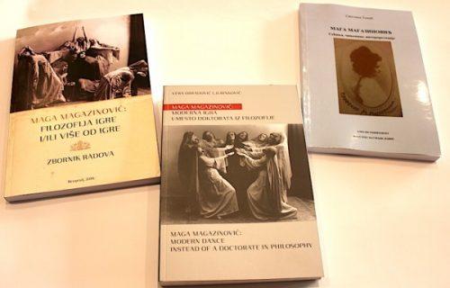 Tri knjige o Magi Magazinović