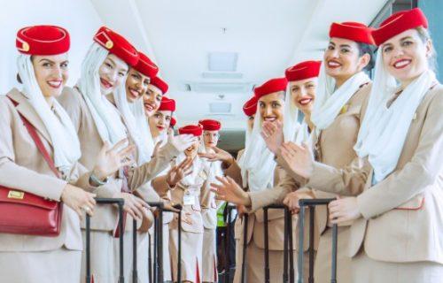 stjuardese emirati