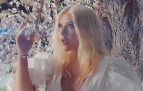 Nova balada Kristine Agilere prizvala proleće (VIDEO+FOTO)