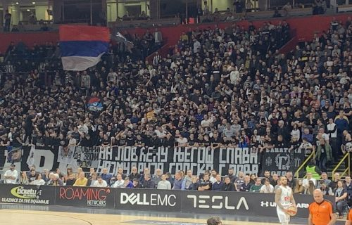 """GNEV isplivava! BESNI """"Grobari"""" žele da Partizan istupiti iz Evrokupa! (FOTO)"""