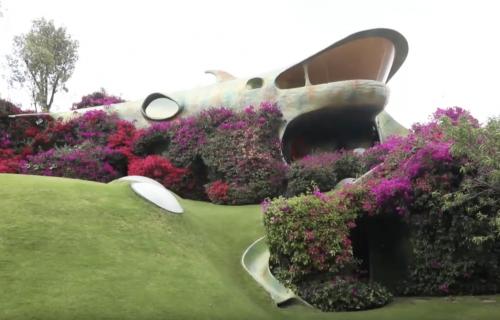 Remek delo organske arhitekture krije se u meksičkim brežuljcima (FOTO+VIDEO)
