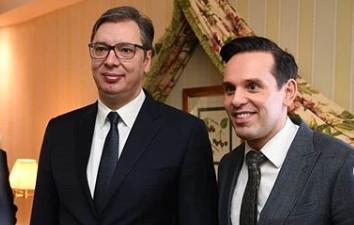 """Vučić sa investitorima u Minhenu: """"Srbiju predstavljamo kao zemlju povoljnog poslovnog ambijenta"""" (FOTO)"""