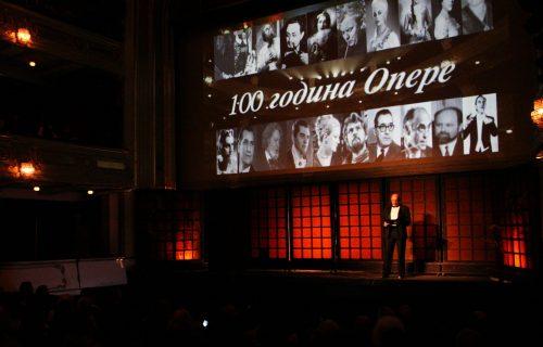 Obeležena stogodišnjica postojanja srpske Opere (FOTO+VIDEO)