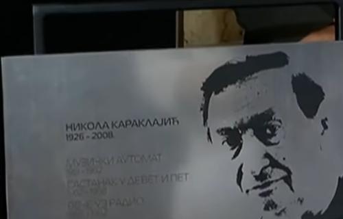 Zasluženo: Spomen-ploča Nikoli Karaklajiću na Zidu slavnih