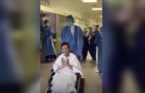 DIRLJIV SNIMAK IZ ITALIJE: Lekari APLAUZOM pozdravili pacijentkinju koja je pobedila koronavirus! (VIDEO)