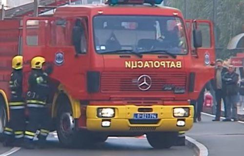 Požar na Novom Beogradu: Brza reakcija vatrogasaca sprečila širenje vatre