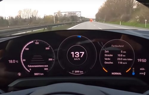 """Kakva baterija: Električni Porsche """"pojeo"""" 1.000 kilometara (VIDEO)"""