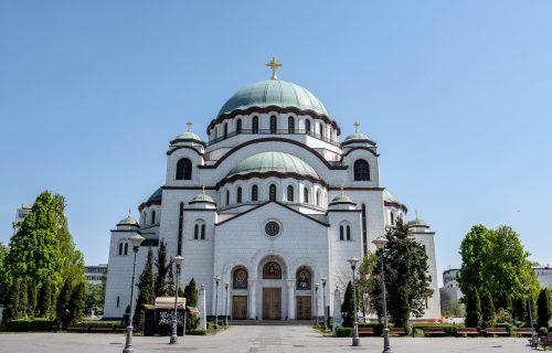 Po blagoslovu Irineja: Danas moleban u Hramu Svetog Save, podrška SPC i vernicima u Crnoj Gori