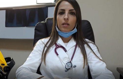 """Snažna poruka doktorke iz Odžaka: """"Pomažući sebi-pomažete i nama"""" (VIDEO)"""