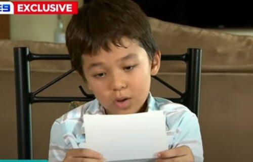 Dečak Korona (8) bio je žrtva nasilja zbog svog imena, a onda je dobio pismo od najveće holivudske zvezde! (FOTO)