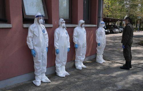 Oni su primili prvi i najteži udar koronavirusa: Vulin posetio Prvu brigadu (FOTO+VIDEO)