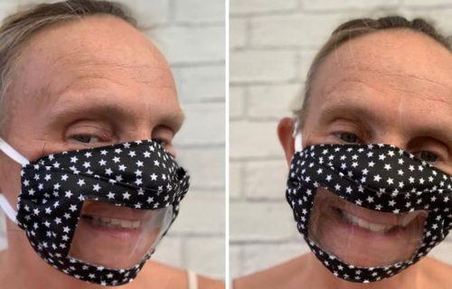 Da bi pomogla ćerki, dizajnirala je masku koja omogućava čitanje sa usana, i postala hit!