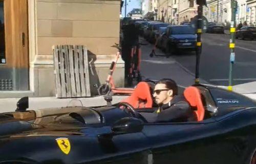 IBRAHIMOVIĆ se bahatio FERARIJEM ulicama Stokholma, čeka ga velika KAZNA! (VIDEO)