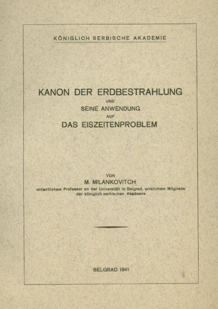Kanon delo M.Milankovića
