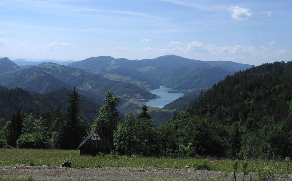 jezero Perućac