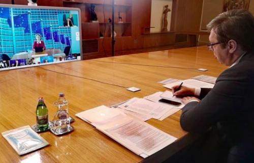 Vučić na video Samitu lidera EU i Zapadnog Balkana pozvao na veću solidarnost