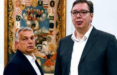 Vučić i Orban posetili Narodni muzej u Beogradu (FOTO)