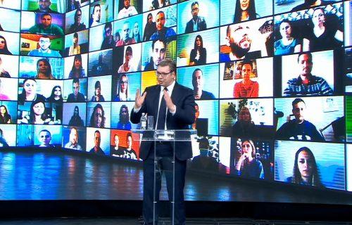 "Večeras onlajn skup liste ""Aleksandar Vučić - Za našu decu"" (VIDEO)"