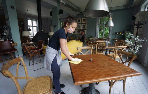 Jedva čekaju PRVE GOSTE: Kafići i restorani širom Beograda se spremaju za OTVARANJE (FOTO)