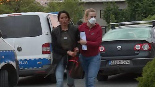 Tijana Ajfon sa LISICAMA na rukama: Isplivao SNIMAK starlete nakon hapšenja zbog prostitucije (VIDEO)