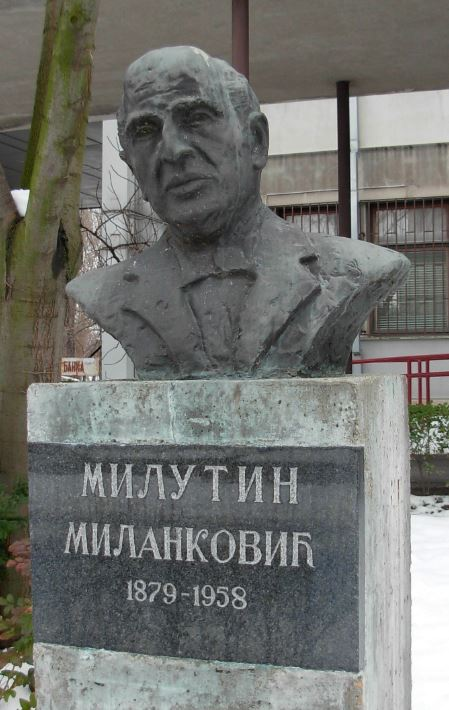 M.Milanković bista