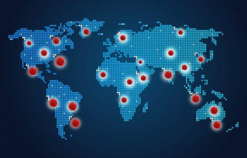 Njujork tajms objavio MAPU korone: Crna Gora i Hrvatska jedine u Evropi u crvenoj zoni, evo gde je Srbija