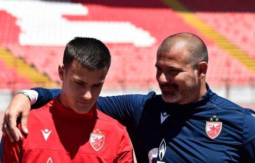 """Deki izazvao sina: """"Ajde, daj mi gol""""! Stanković junior je uzeo loptu i... Evo kako je to izgledalo (VIDEO)"""