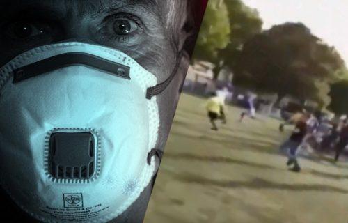 Skandalozna utakmica! Nova VIRUS BOMBA: U žarištu pandemije na teren utrčalo 400 ljudi (VIDEO)