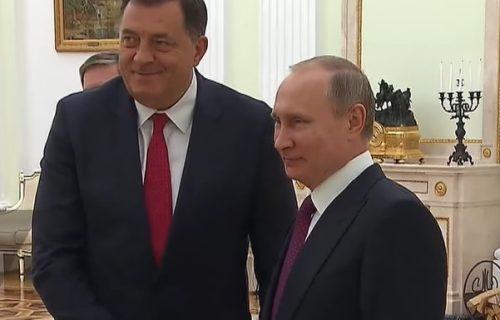 """""""Rusija je za nas veoma važan partner"""": Dodik se sastao sa Putinom"""