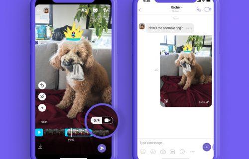 Sada možete kreirati sopstveni GIF u Viberu, evo i kako (VIDEO)