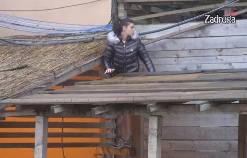 SKANDAL! Mina Vrbaški beži sa imanja: Otvorite mi vrata, da ne padnem sa krova! (VIDEO)