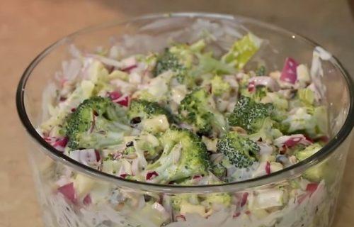 Zdravo i ukusno: KREMASTA salata sa BROKOLIJEM (RECEPT+VIDEO)