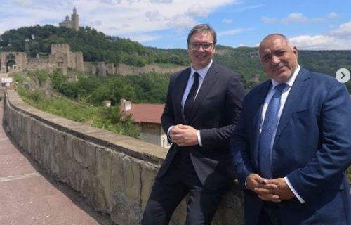 """""""Hvala na divnom danu"""": Vučić i Borisov posetili bugarsku Svetu goru (FOTO)"""