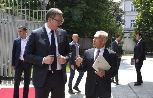 Vučić sa državnim vrhom na svečanom prijemu povodom Dana Rusije (FOTO)