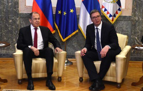 Vučić posle sastanka sa Lavrovim: Srbija će morati da zaštiti interese, hvala Rusiji što nas podržava