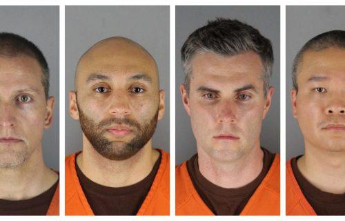 Sud odredio: Kaucija za tri policajca iz Mineapolisa - MILION dolara