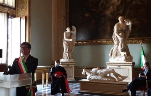 Galerija Ufici otvorila svoja vrata nakon 3 meseca: Pratite svečanost UŽIVO (VIDEO)