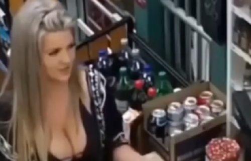 Pokazala mu OGROMNE grudi da bi ga opljačkala! Provalio je u trenu, usledila je neviđena reakcija (VIDEO)