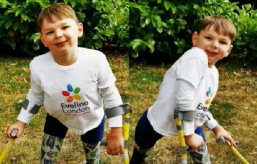 """Dečak skupio pola miliona dolara da se oduži """"dobrim čikama i tetama"""" (VIDEO)"""