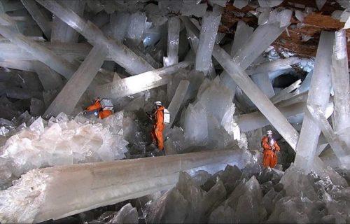 Prelepa pećina krije najveći KRISTAL na svetu, ali ko se zadrži unutra duže od 30 minuta UMIRE (VIDEO)