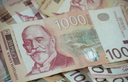 Dinar USIDREN: NBS objavila koliko košta jedan evro