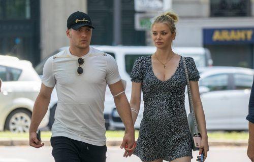 Sofija i Luka u šetnji! Fudbaler u centru pažnje zbog NEPRIMERENOG gesta (FOTO)