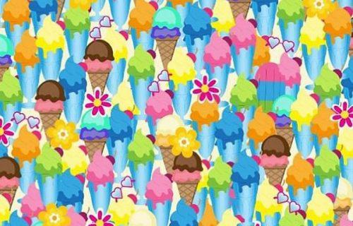 Letnja mozgalica za one sa oštrim okom: Vidite li sladoled na štapiću?