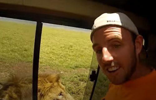 Najgluplji turisti ikada! U trenutku su mogli da budu ubijeni (VIDEO)