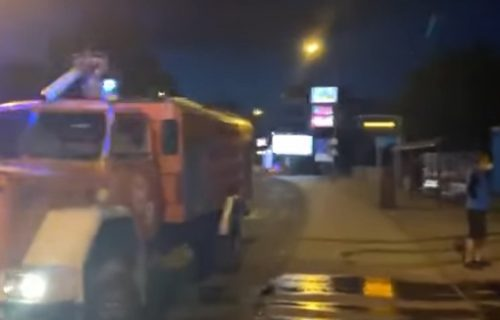 Eksplozivnom napravom na pekaru potpredsednika VMRO-DPMNE u Skoplju (VIDEO)