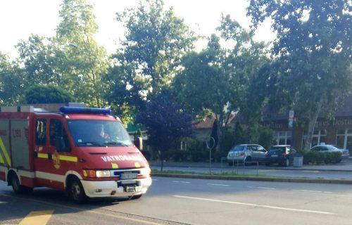 Drama u Gornjem Milanovcu: Zapalila se pekara, kupci i radnici IZLETELI napolje bežeći od VATRE