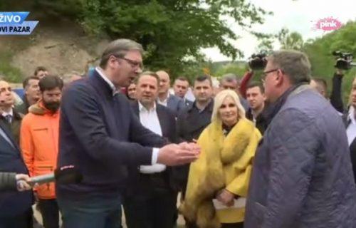 """""""Kako, bre, Drobnjak 500 miliona?"""" Vučić čuo računicu o ceni puta i morao da reaguje"""